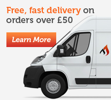 Free, fast delivery on orders over £100