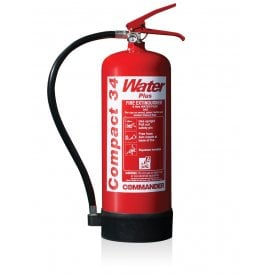 6 litre Water Additive Compact34 Extinguisher