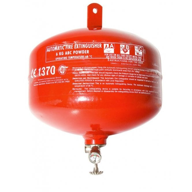 CheckFire Automatic Dry Powder 6kg Extinguisher