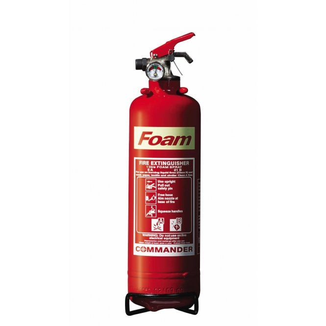 CheckFire - Commander 1 Litre AFF Foam Extinguisher