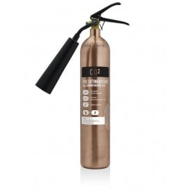 2KG Carbon Dioxide Extinguisher - Antique Copper
