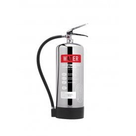 6 Litre Water Extinguisher - Stainless Steel