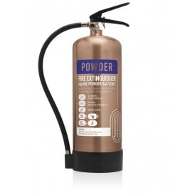 6KG Dry Powder Extinguisher - Antique Copper