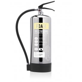 9 Litre Foam Extinguisher - Stainless Steel
