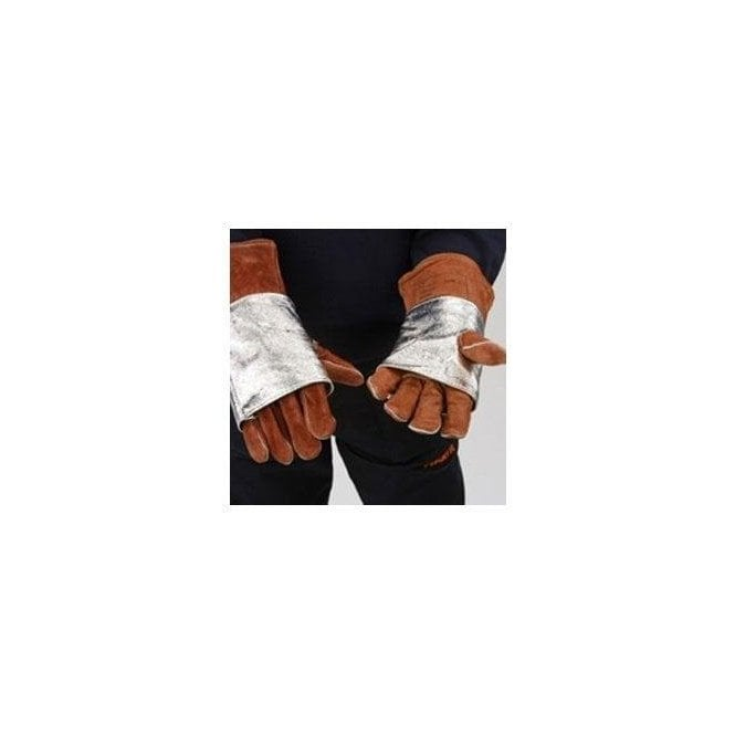 FirePro Plus Aluminised Heat Reflective Glove Protectors