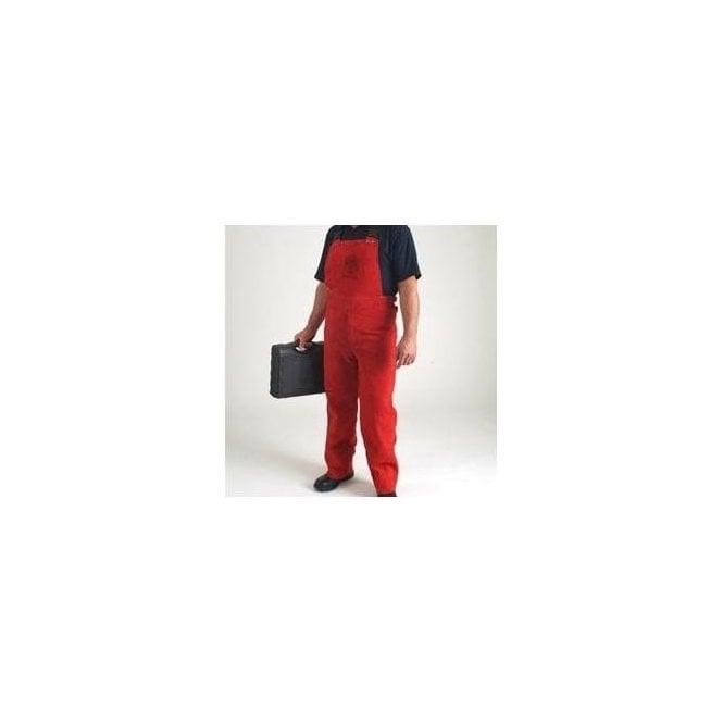 FirePro Plus Premium Leather Welding Bib & Brace
