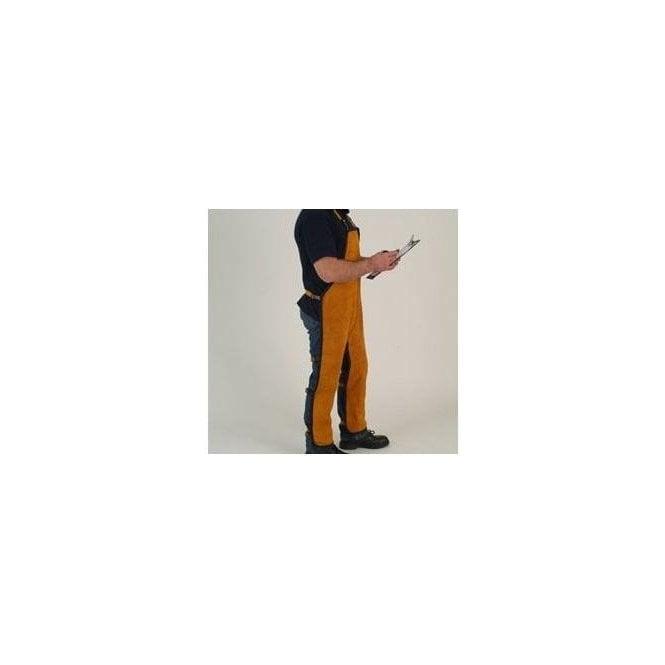 FirePro Plus Premium Leather Welding Chaps