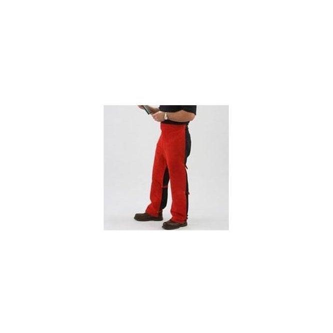 FirePro Plus Premium Leather Welding Cowboy Chaps
