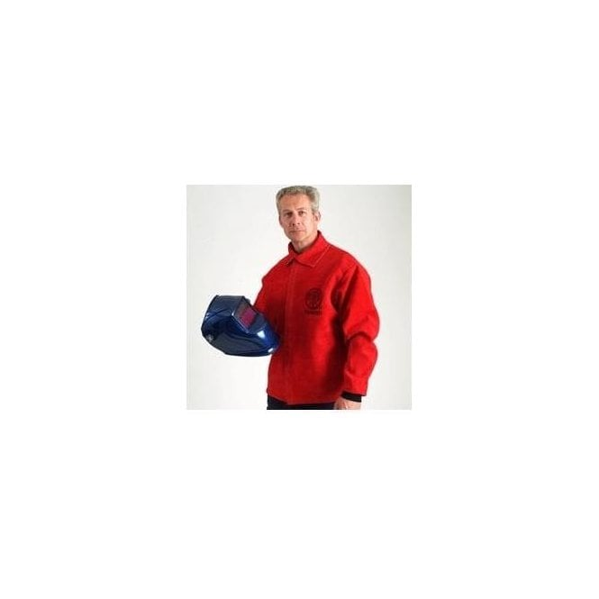 FirePro Plus Premium Leather Welding Jacket