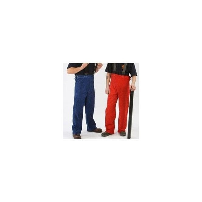 FirePro Plus Premium Leather Welding Trousers